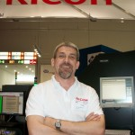 Luc Van Damme, Team Leader and Continuous Feed Specialist, Ricoh Germany