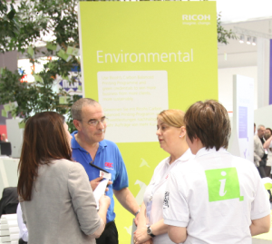 Environmental zone at drupa