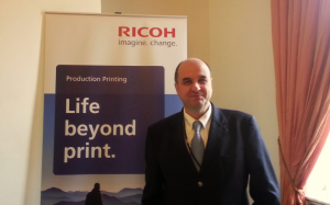 Benoit Chatelard, General Manager Solutions, Production Printing Group, EMEA