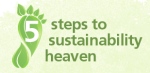 5 steps to sustainability heaven