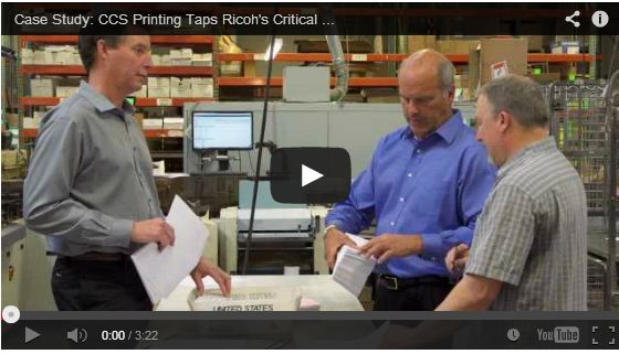 CCS Printing (US) taps  Ricoh's Critical Communications Suite for Print Management