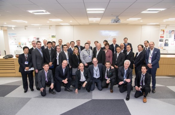 Attendees of first Ricoh Global Innovation Summit Jan 2016